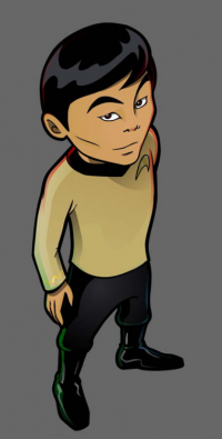 Hikaru Sulu from R.C. Young