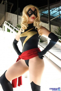 Starry Sheep Cosplay as Ms. Marvel