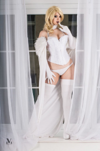 Atai Cosplay as Emma Frost