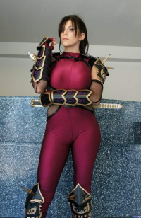 Miss Sinister Cosplay as Taki