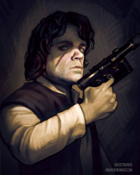 Tyrion Lannister/Han Solo from Andrew Tran