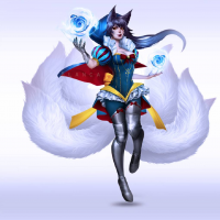 Ahri/Snow White from Blanca. J. E