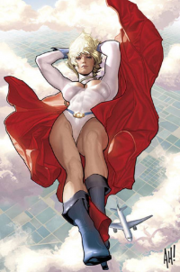 Power Girl von AdamHughes