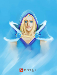 Crystal Maiden from Icarusal