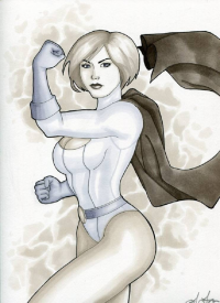 Power Girl from Indy Lytle