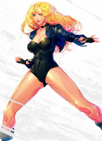 Black Canary from Carlos Javier