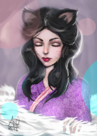 Ahri from Alberto Cruz