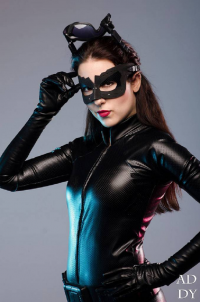 Teryl Dactyl as Catwoman