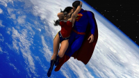 Superman, Wonder Woman from Wolfhoundjack