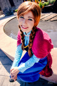 Shelle-chii as Anna of Arendelle