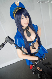 A R I S A as Caitlyn/Officer