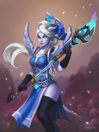 Draenei from lowly-owly