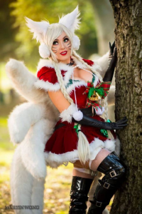 Jessica Nigri as Ahri