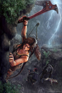 Lara Croft from Aaron Foster