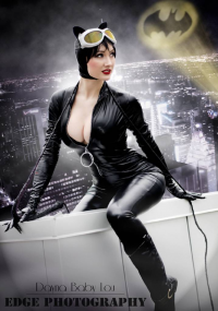 Dayna Baby Lou as Catwoman