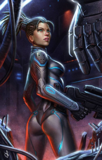 Sarah Kerrigan from Sara Forlenza