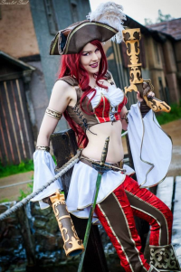 Unknown Female Artist as Miss Fortune