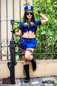 Angie Baby as Caitlyn/Officer