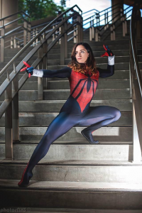 JSG Cosplay as Spider Girl