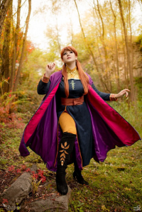 Shappi as Anna of Arendelle