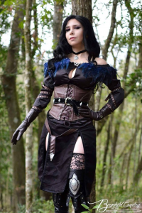 Brynhild Undómiel Cosplay as Yennefer