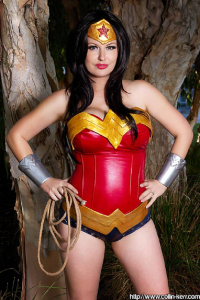 Lady Jaded as Wonder Woman