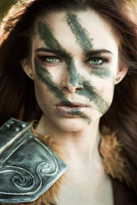 Chloe Dykstra as Aela the Huntress