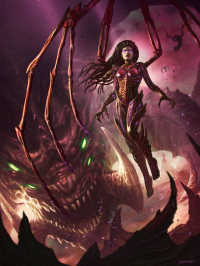 Queen of Blades from Rafater