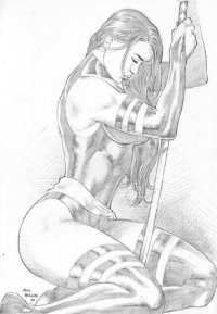 Psylocke from Marcello Holanda