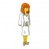 Claire Dearing/The Simpsons from Adrien Noterdaem