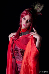 Thelema Therion as Melisandre