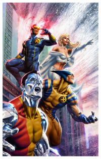 Cyclops, Emma Frost, Wolverine, Colossus from Carlos Valenzuela