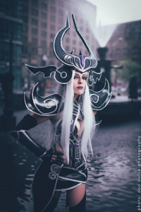 Element cosplay as Syndra