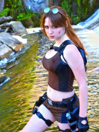 Alenlav as Lara Croft