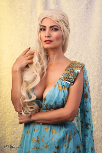 Ivy Cosplay as Daenerys Targaryen