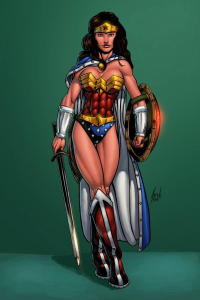 Wonder Woman from Marcus Odoms