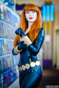 Ashleynne Dae as Black Widow