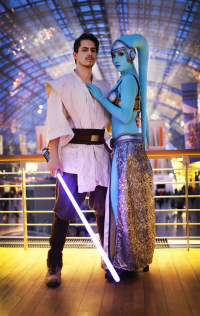 Laura Jansen as Twi'lek, Ralf Zimmermann as Jedi