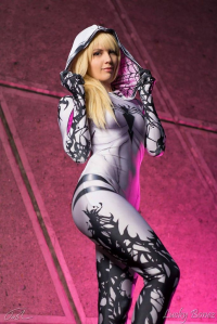 Bad Luck Kitty as Gwenom