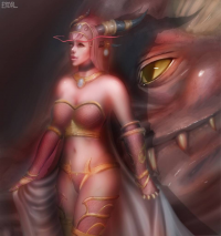 Alexstrasza from Eriyal