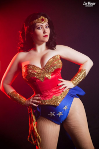 Bernadette Bentley as Wonder Woman
