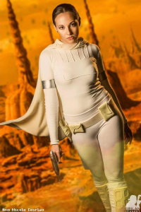 Amy Nicole as Padmé Amidala