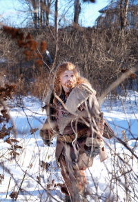Marylin Oakenshield Cosplay as Fili