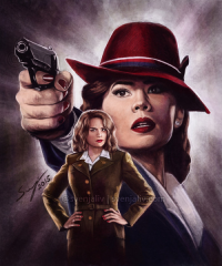 Peggy Carter from Winter-by-the-sea