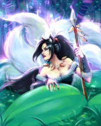 Ahri/Nidalee from Bannanapower