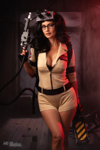 Ivy Cosplay as Ghostbuster
