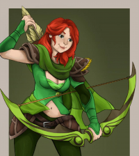 Windranger from Aigreo