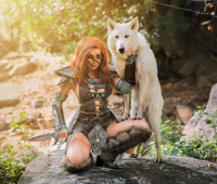 Jessica Nigri as Aela the Huntress