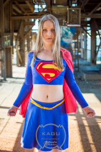 Ashayla Webster as Supergirl