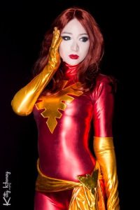 Kitty Honey as Dark Phoenix